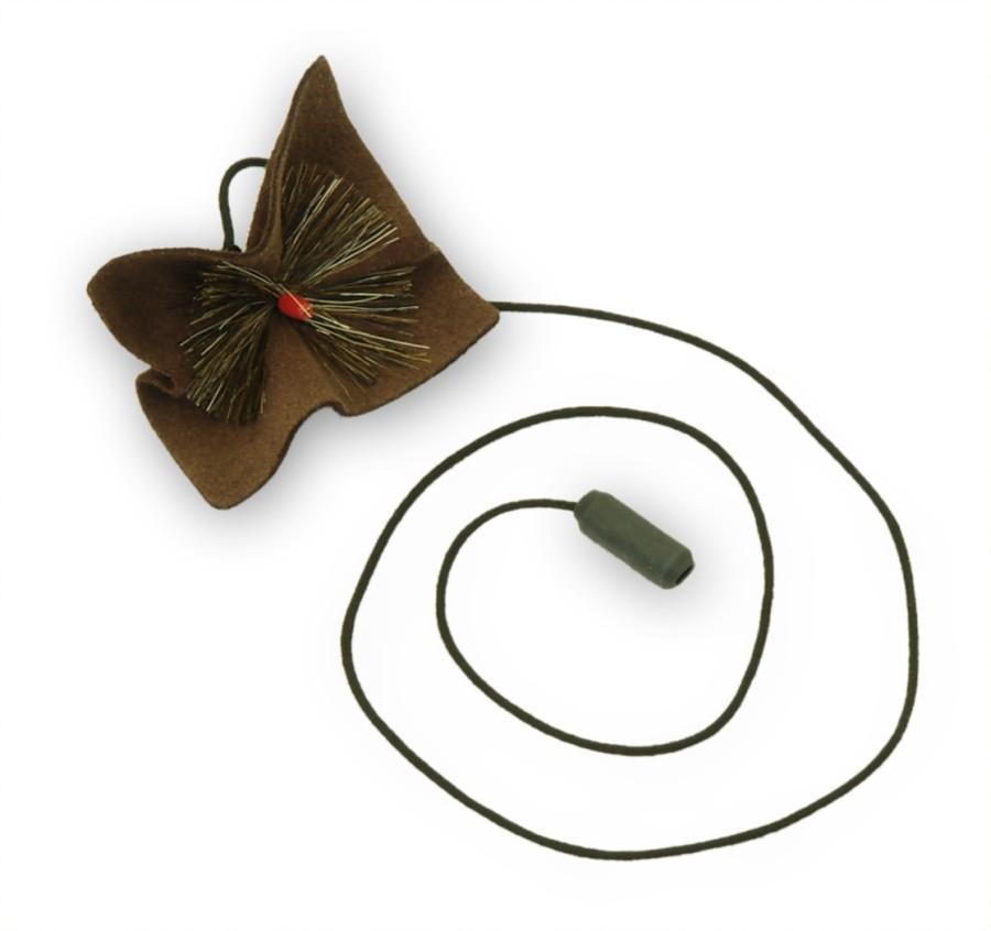 Vytěrák na eso basklarinetu - Vytěrák na eso basklarinetu kůže+kartáč.